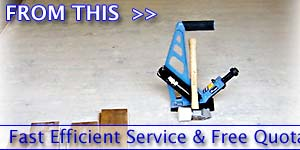 Fast Efficient Service & Free Quotations